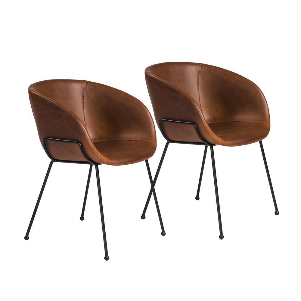 Zach Brown Arm Chair (Set of 2)