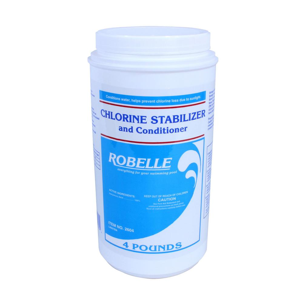 Robelle 4 lbs chlorine stabilizer and conditioner for - What is swimming pool conditioner ...
