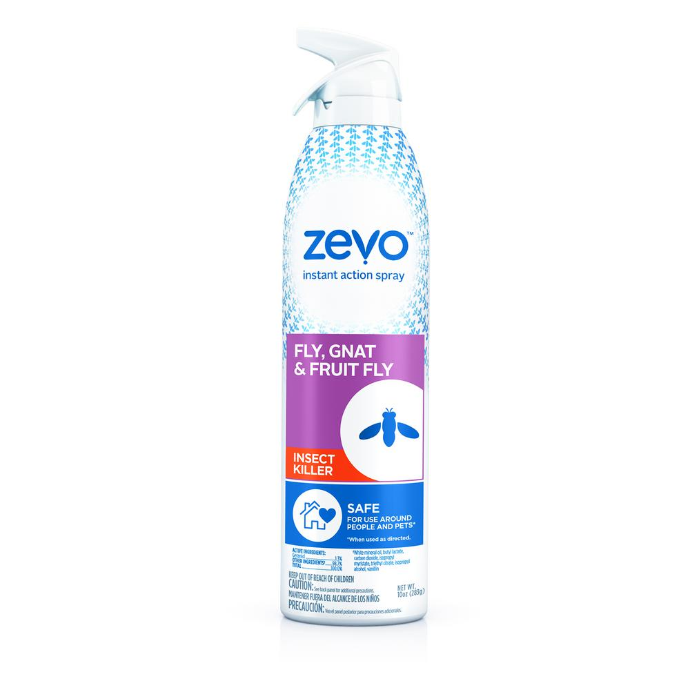 ZEVO Instant Action 10 oz  Aerosol Fly, Gnat and Fruit Fly Flying Insect  Killer