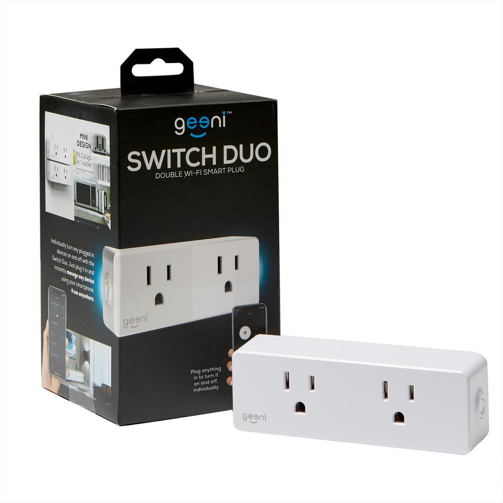 5f1f4e5ade Geeni Switch Dou Double Wi-Fi Smart Plug