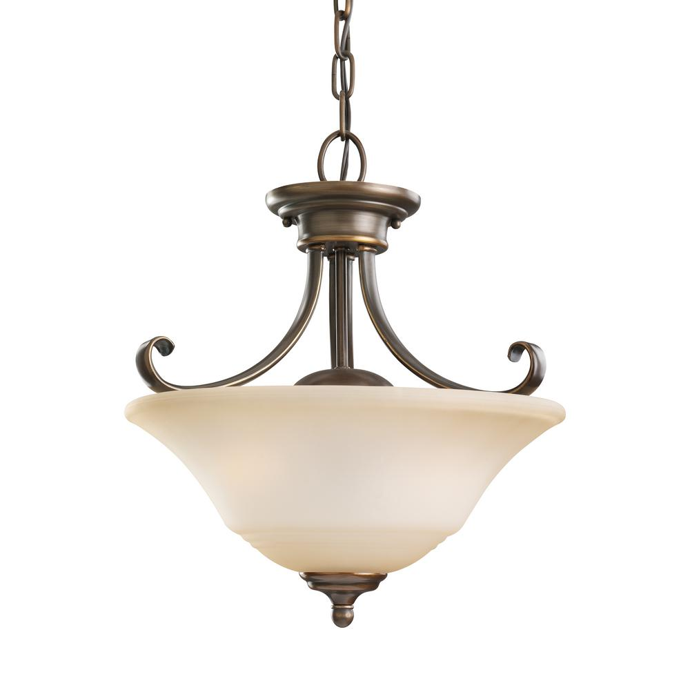 Sea Gull Lights: Sea Gull Lighting Parkview 2-Light Russet Bronze Pendant