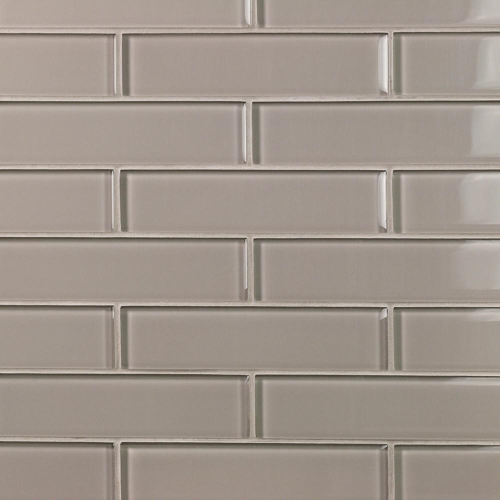 Green Glass Tile Tile The Home Depot - Green-glass-bathroom-tile