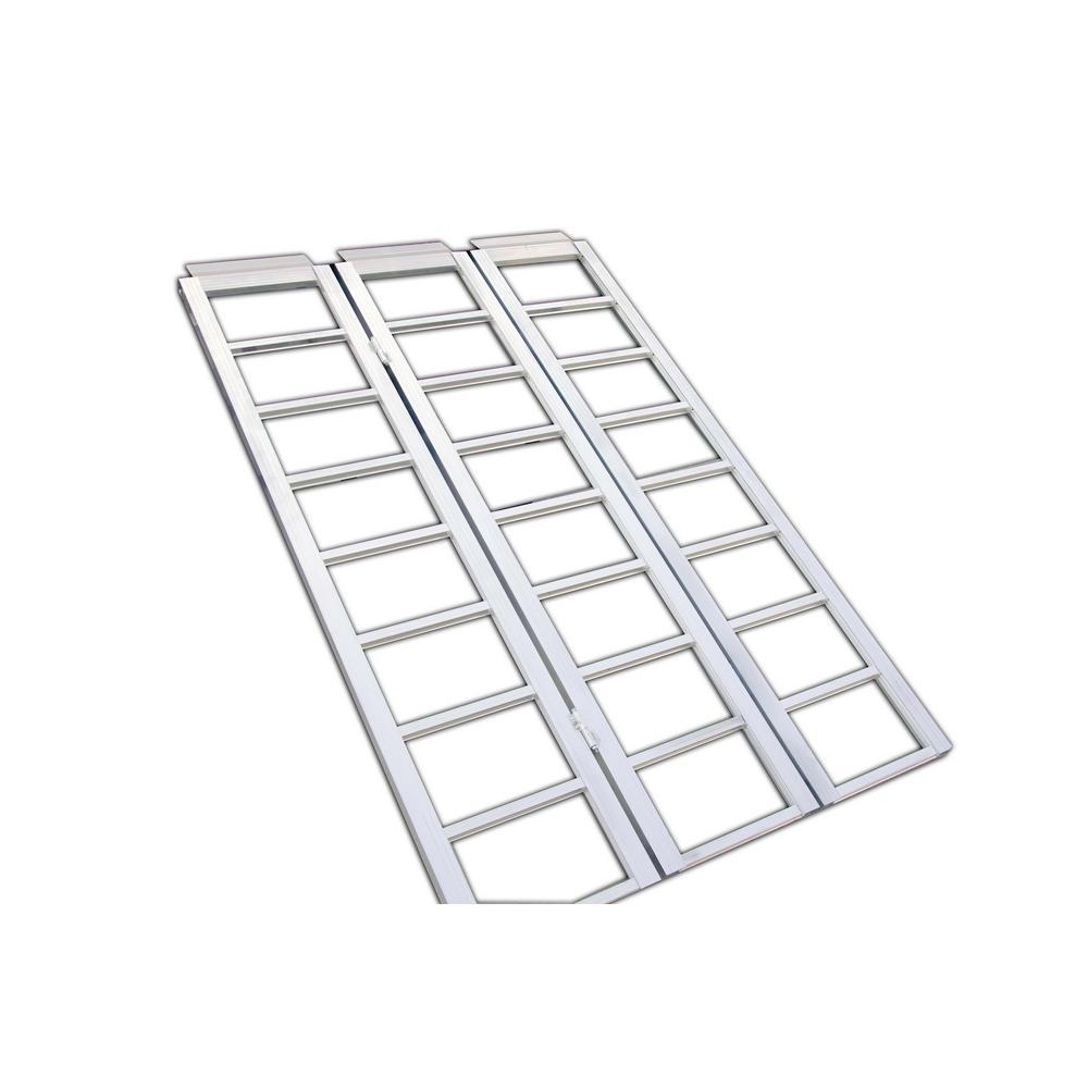 MAX LOAD 36903 Aluminum Tri Fold Ramp 69 x 45