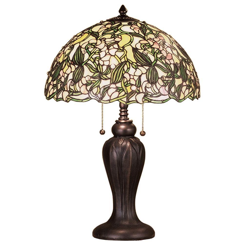Illumine 2 Light Sweat Pea Table Lamp