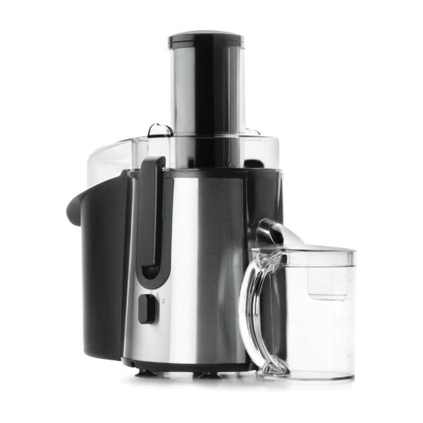 700-Watts 150 oz. BlackWide Mouth Juicer High-Speed Juice Extractor for Fruits and Vegetables (JE7607BR)
