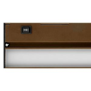 Nicor Slim 40 in. Oil-Rubbed Bronze Dimmable LED Under Cabinet ...