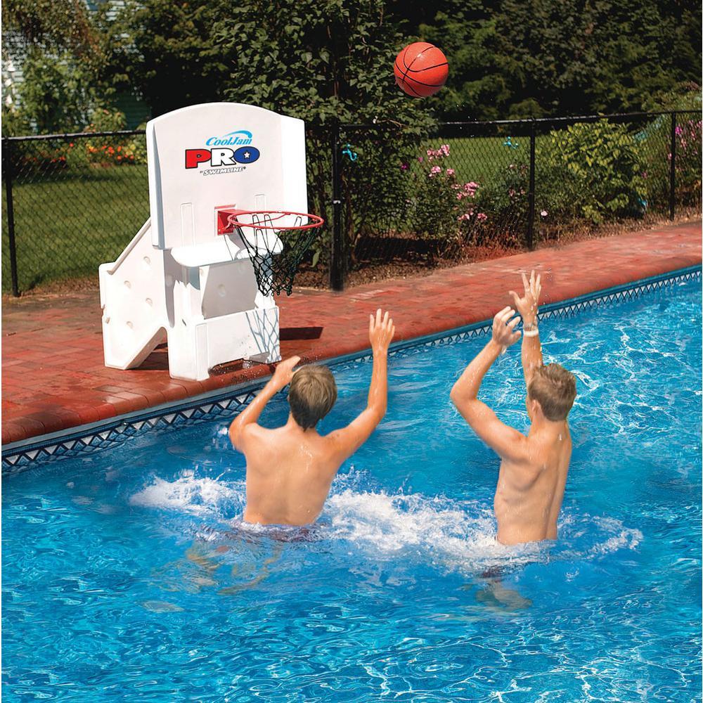 Swimline Cool Jam Pro Super Wide Water Basketball Game