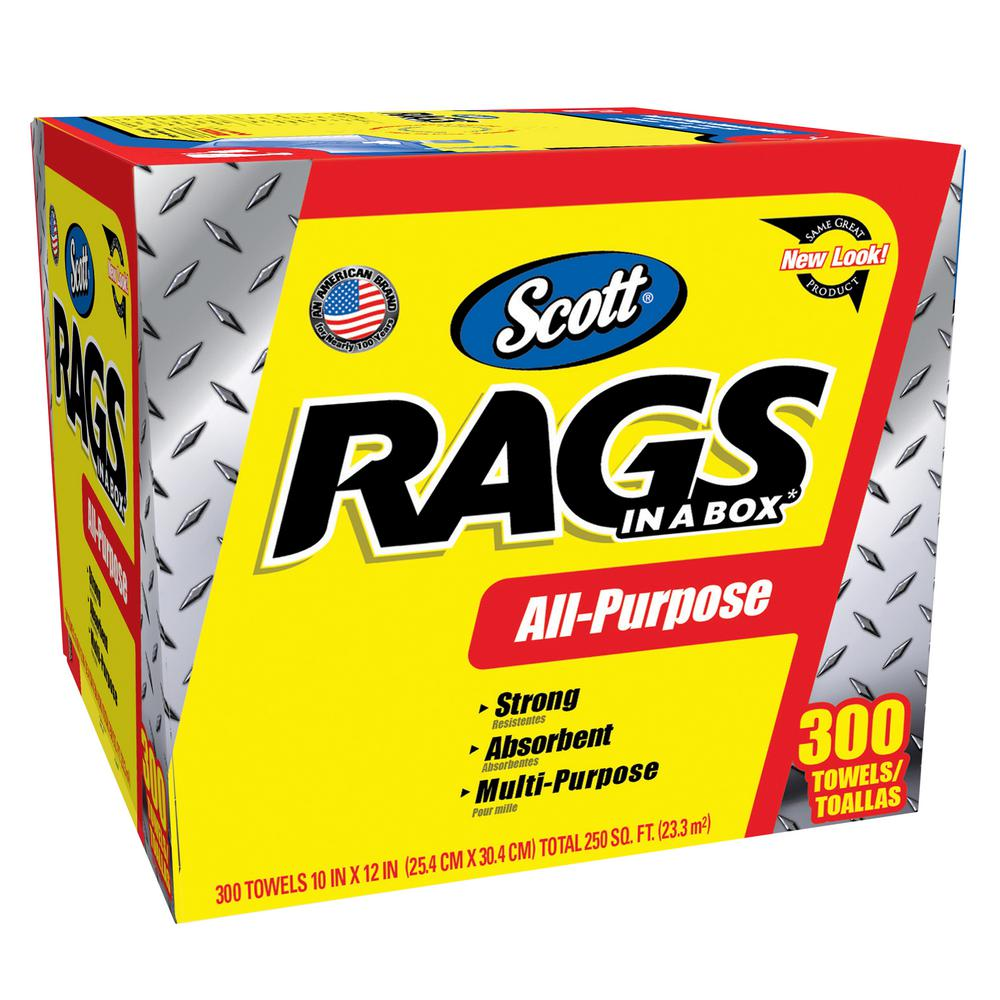 kimberly clark rags in a box 300 ct - Box Of Rags