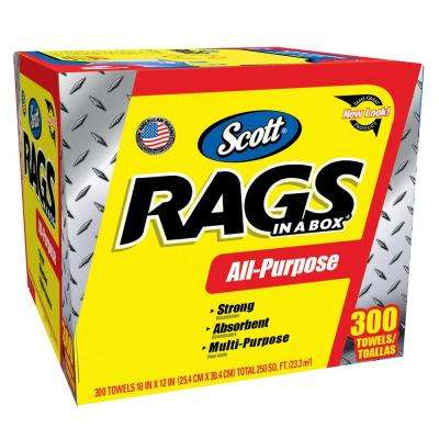Rags in a Box 300-ct
