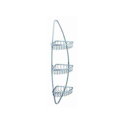 Magnifico 3 Tier Wire Basket in Chrome