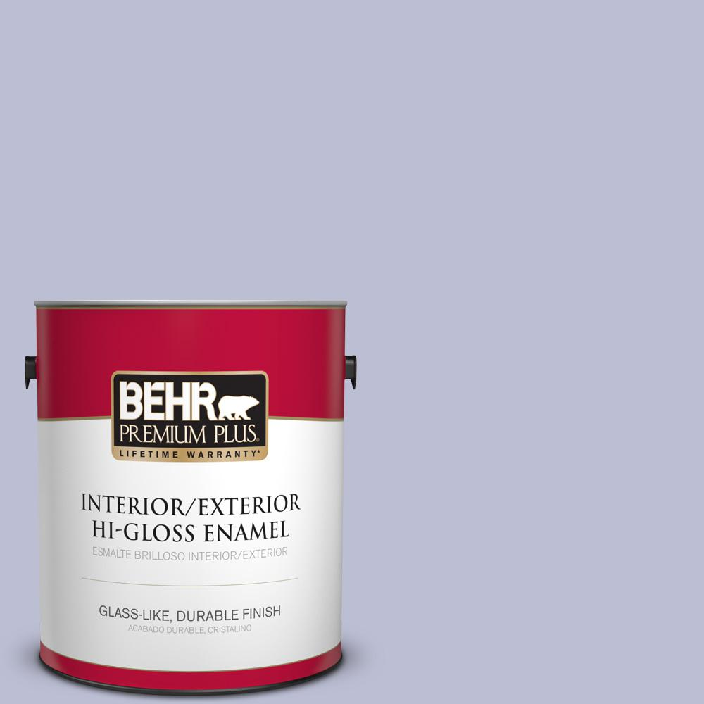 1 gal. #PPU15-15 Sweet Juliet Hi-Gloss Enamel Interior/Exterior Paint