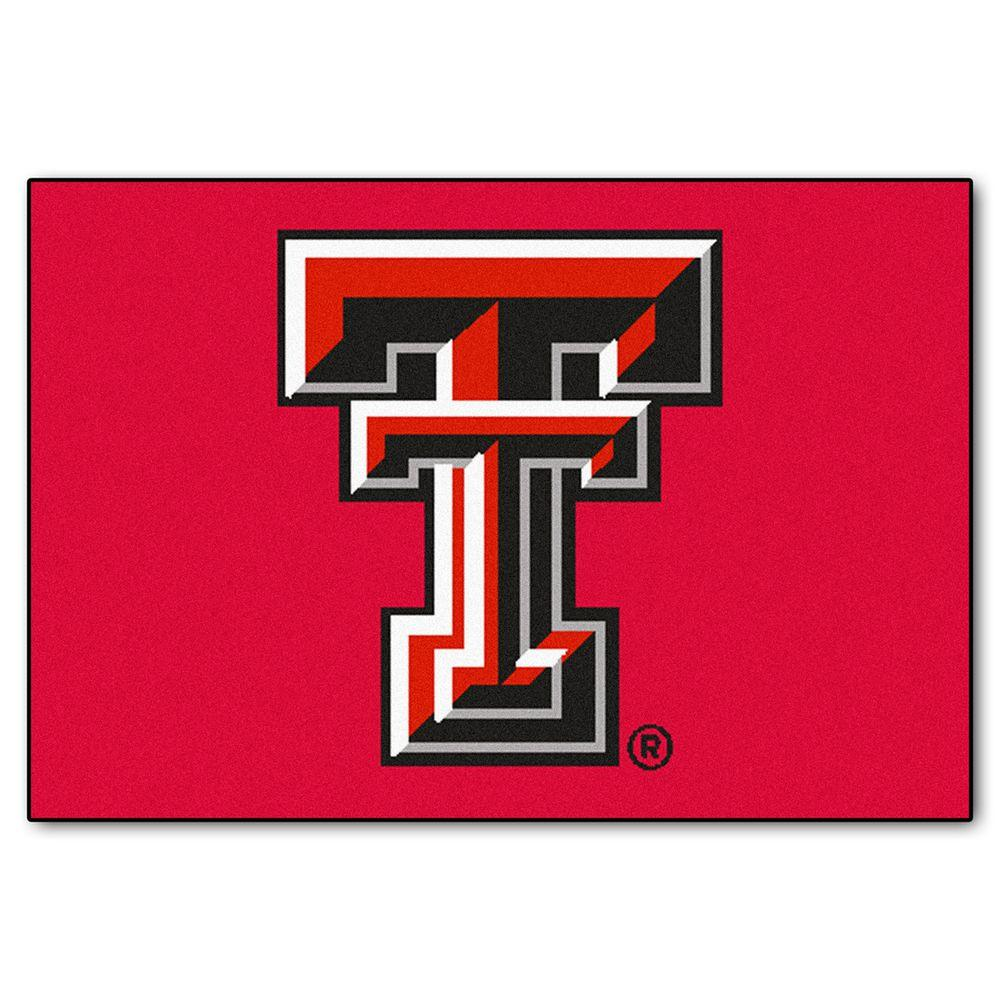 Texas Tech University 19 in. x 30 in. Accent Rug