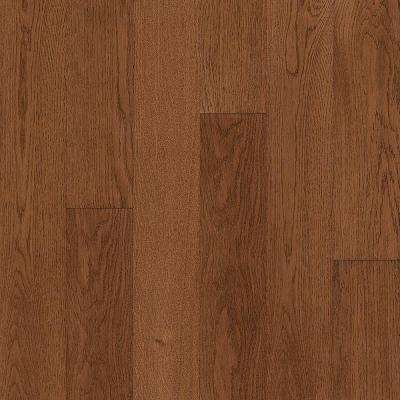 Take Home Sample - Hydropel Oak Gunstock Engineered Hardwood Flooring - 5 in. x 7 in.