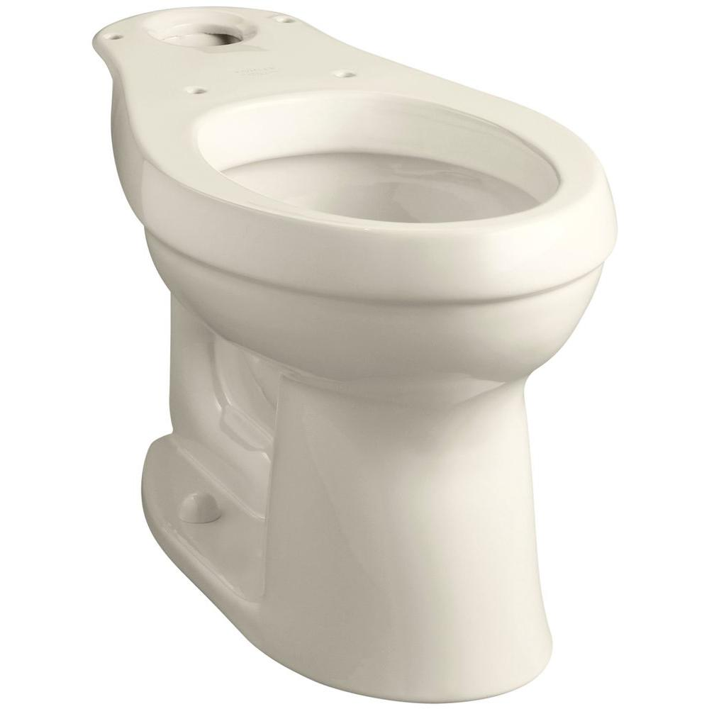 Cimarron Comfort Height Elongated Toilet Bowl Only in Almond