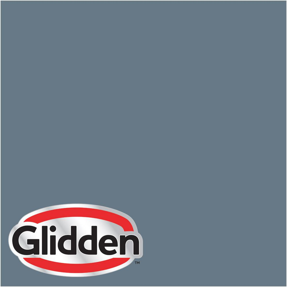 Hdgv13u Mountain Slate Blue Satin Interior Paint Sample