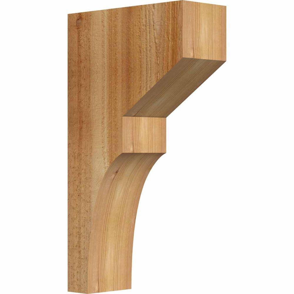 4 in. x 10 in. x 18 in. Western Red Cedar