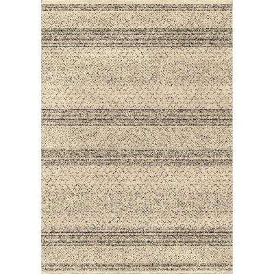 Stronda Black 7 ft. 10 in. x 10 ft. 10 in. Indoor Area Rug