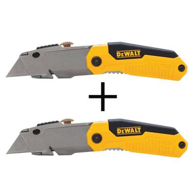 Folding Retractable Utility Knife (2-Pack)