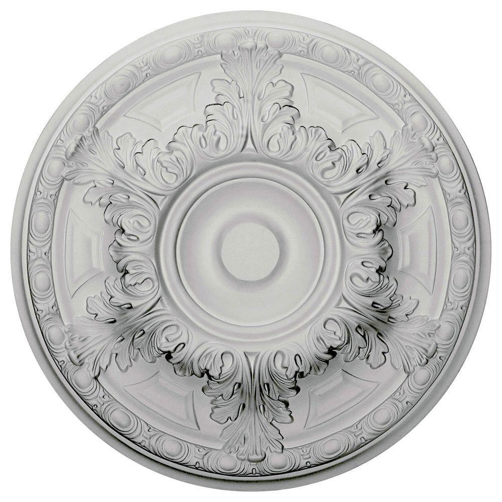 19 in. O.D. x 1-1/2 in. P Granada Ceiling Medallion