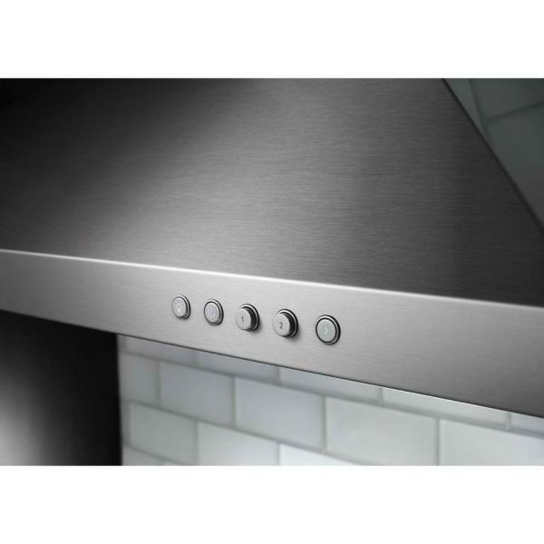 Kitchenaid 30 In Convertible Wall Mount Range Hood In Stainless Steel Kvwb400dss The Home Depot
