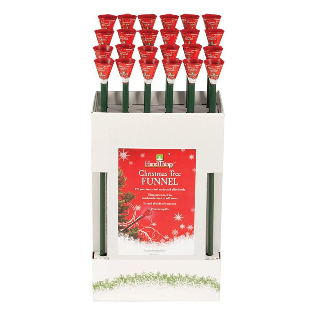 Christmas Tree Watering System.Christmas Tree Funnel