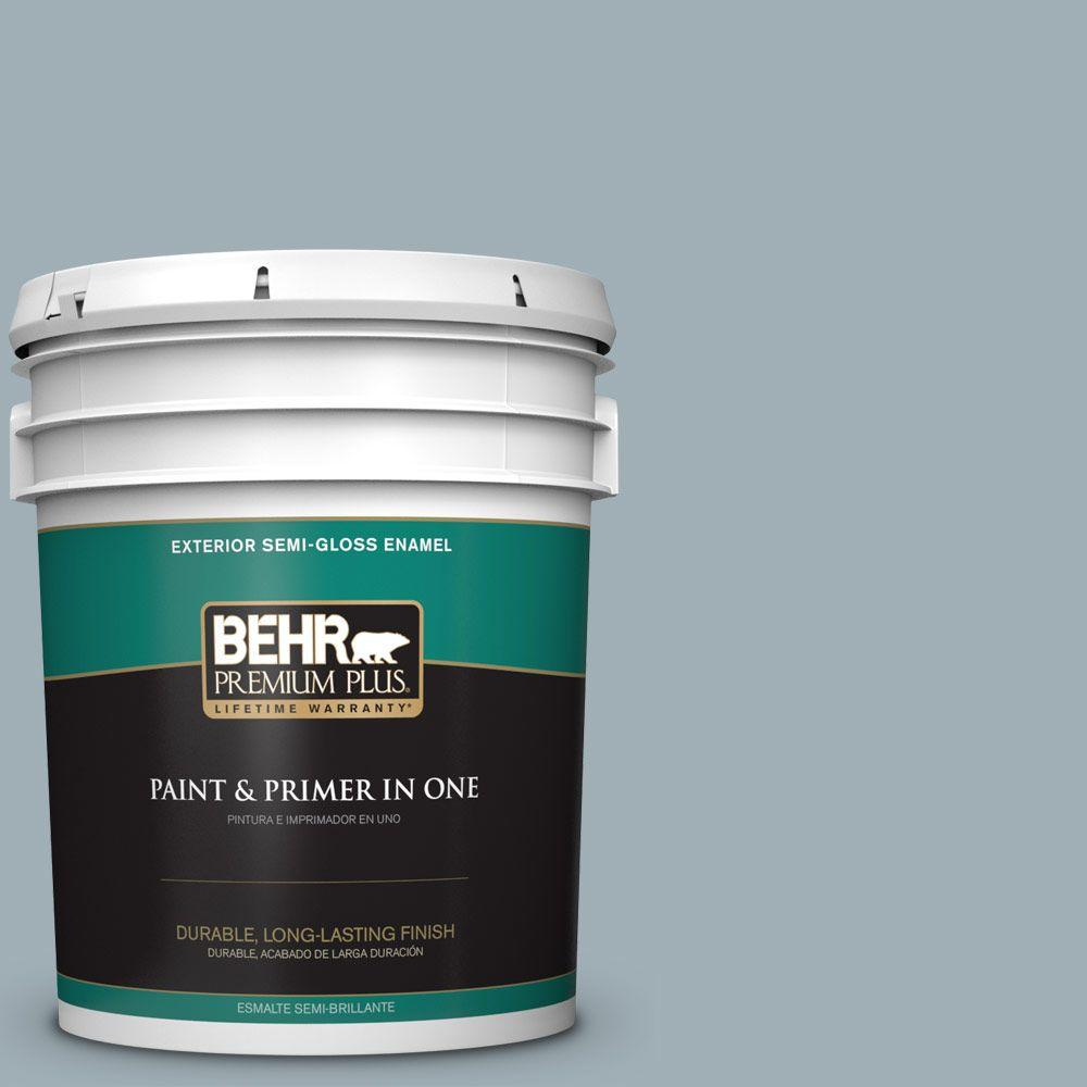 5-gal. #ECC-22-2 Bay View Semi-Gloss Enamel Exterior Paint