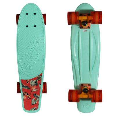 Bright Tropics 22.5 in. Skateboard