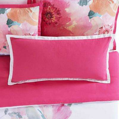 Bold Floral 16 in. x 32 in. Pillow