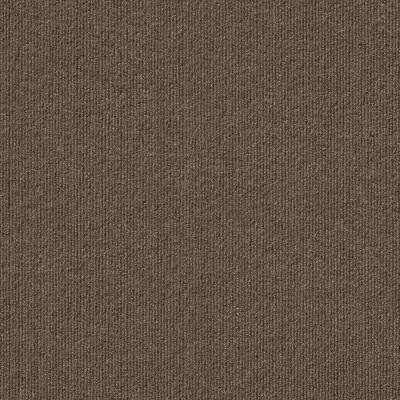 Peel and Stick Inspirations Espresso Ribbed 18 in. x 18 in. Residential Carpet Tile (16 Tiles/Case)