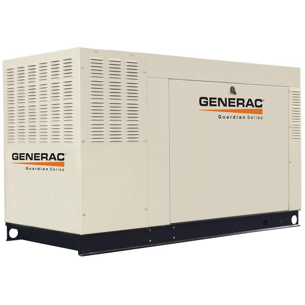 Generac 45,000-Watt 120/208-Volt 3-Phase Liquid Cooled Standby Generator