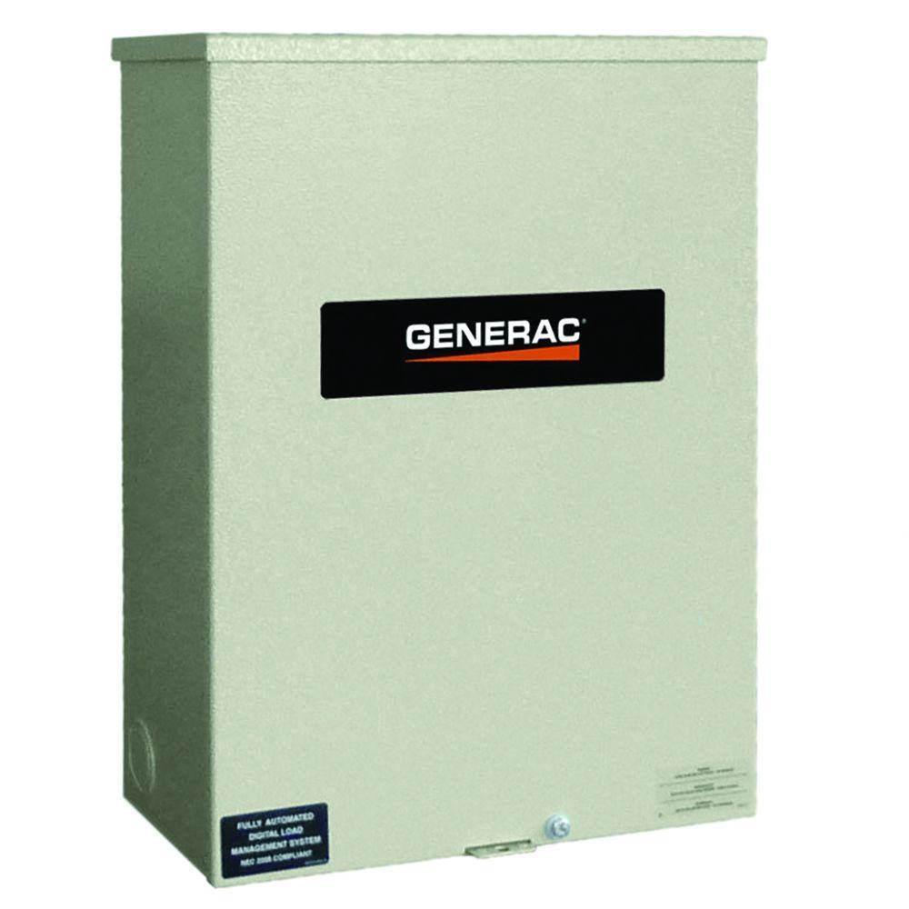 Generac 100 Amp 120/240 Single Phase NEMA 3R Smart Transfer Switch by Generac