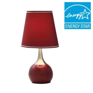 ORE International 23 inch Red High Modern Touch Lamp by ORE International