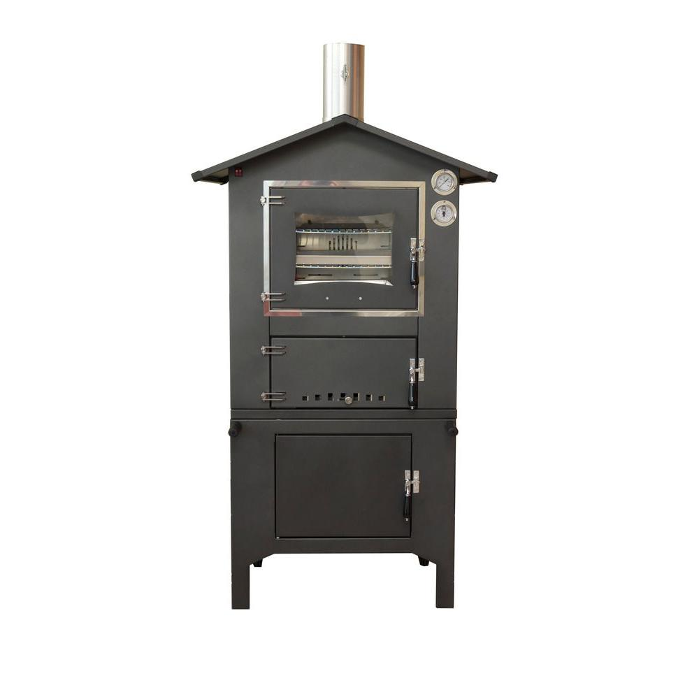 Fontana Forno Toscano Sicilia Outdoor Wood Fired Pizza Oven ...