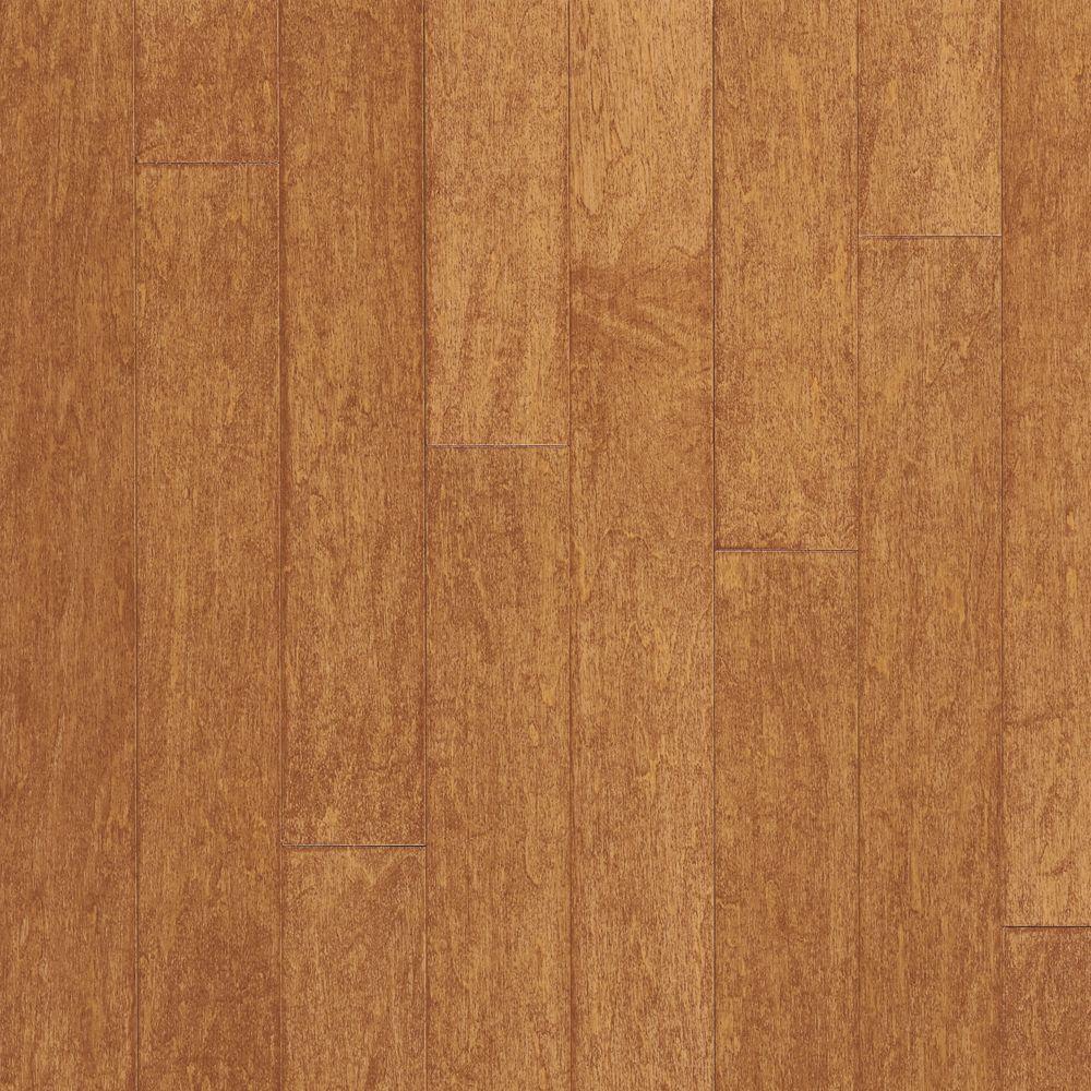 Maple Amaretto Engineered Hardwood Flooring - 5 in. x 7 in. Take Home Sample