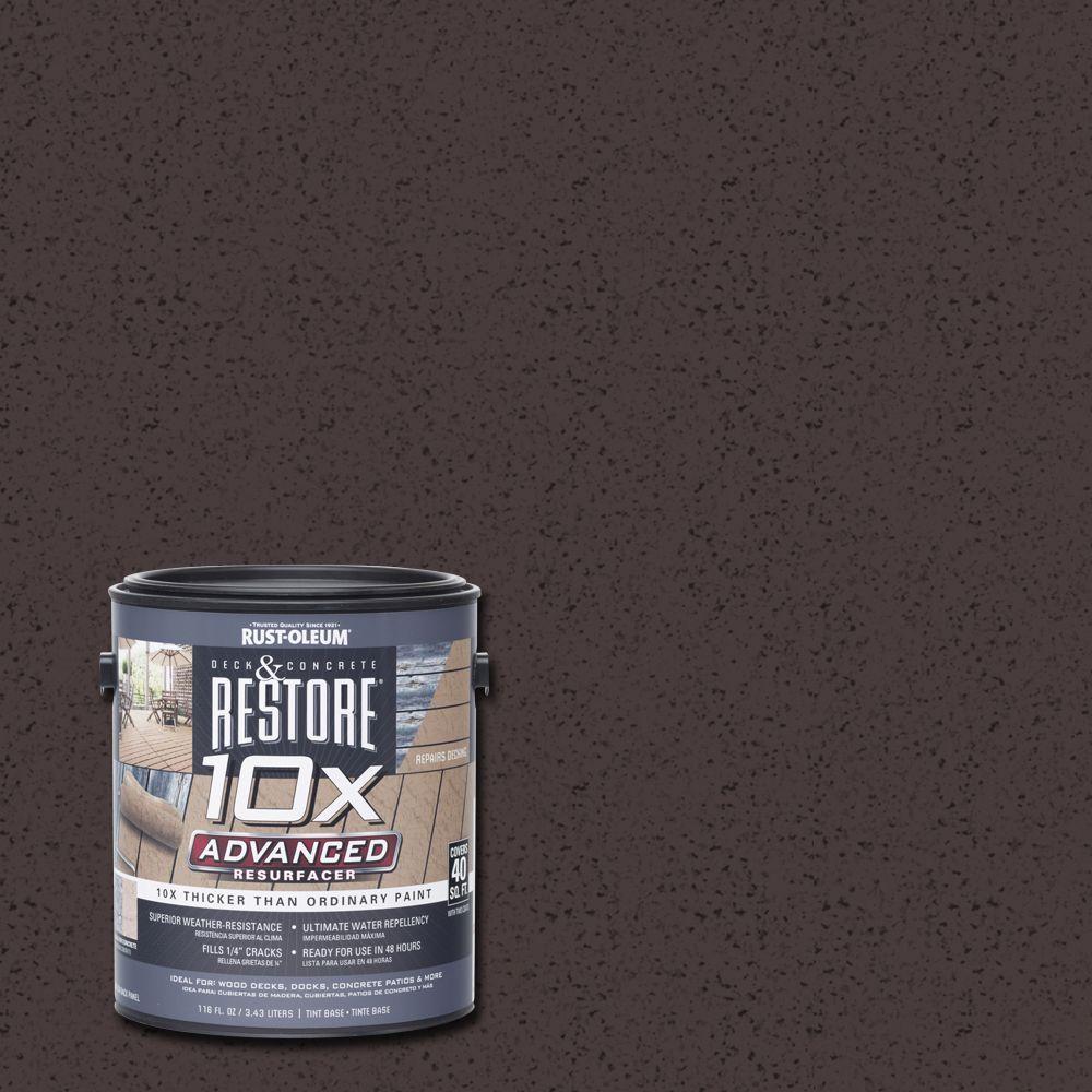 1 gal. 10X Advanced Teak Deck and Concrete Resurfacer