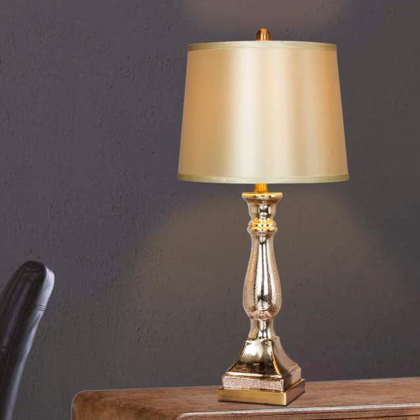 """Colonial Vintage SETTLER/'S LAMP Electric 16.5/""""H"""
