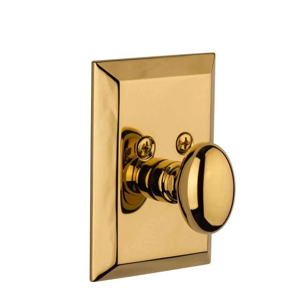 Nostalgic Warehouse Fifth Avenue Lifetime Brass Single Cylinder Deadbolt - Keyed Alike
