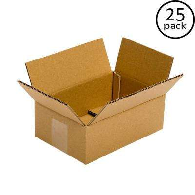 9 in. x 6 in. x 4 in. 25 Moving Box Bundle