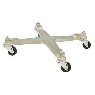 550 lb. Capacity Mobile Drum Dolly Cast Iron