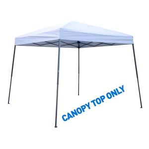 Trademark Innovations 8 ft. x 8 ft. Silver Square Replacement Canopy Gazebo Top For 10 ft.... by Trademark Innovations