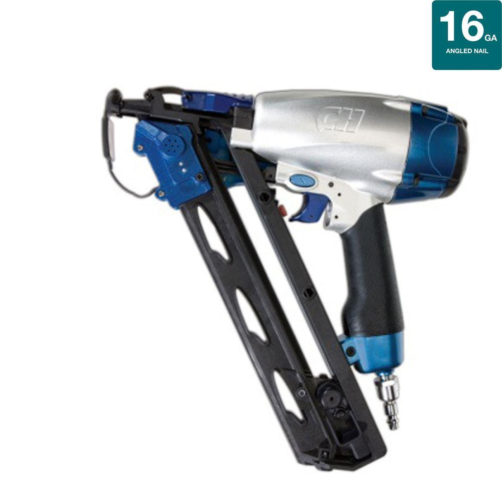 Campbell Hausfeld Pneumatic 2-1/2 in. 16-Gauge Strip Precision Guided Finish Nailer-DISCONTINUED