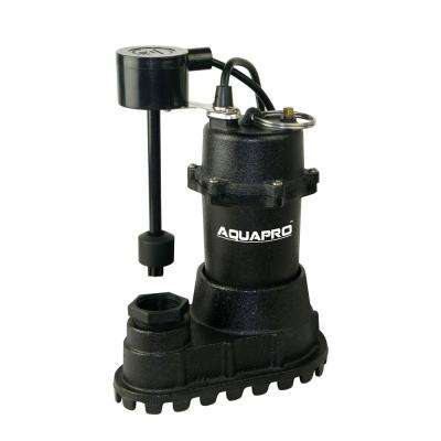 1/2 HP Cast Iron Sump Pump