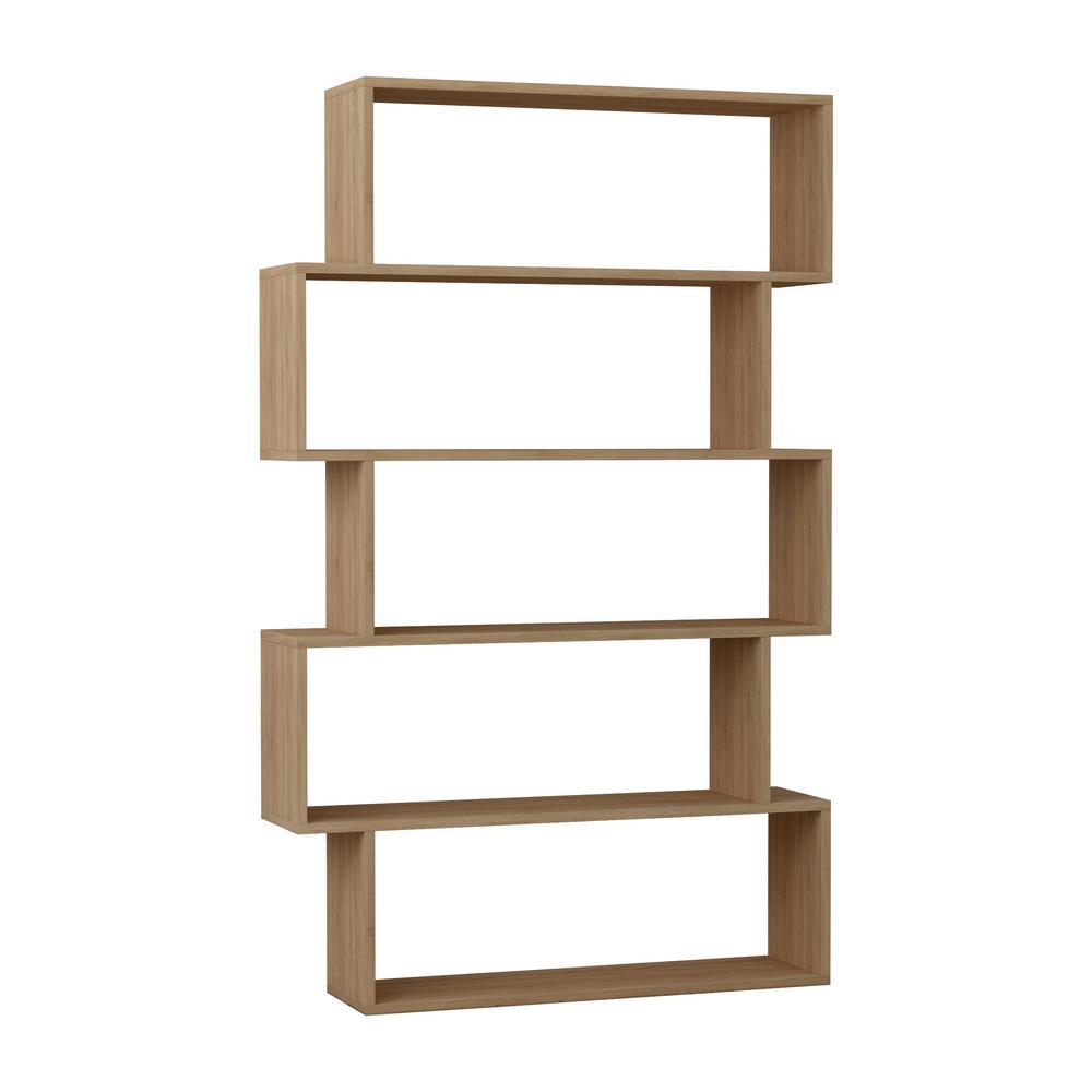 Barclay Oak Modern Bookcase