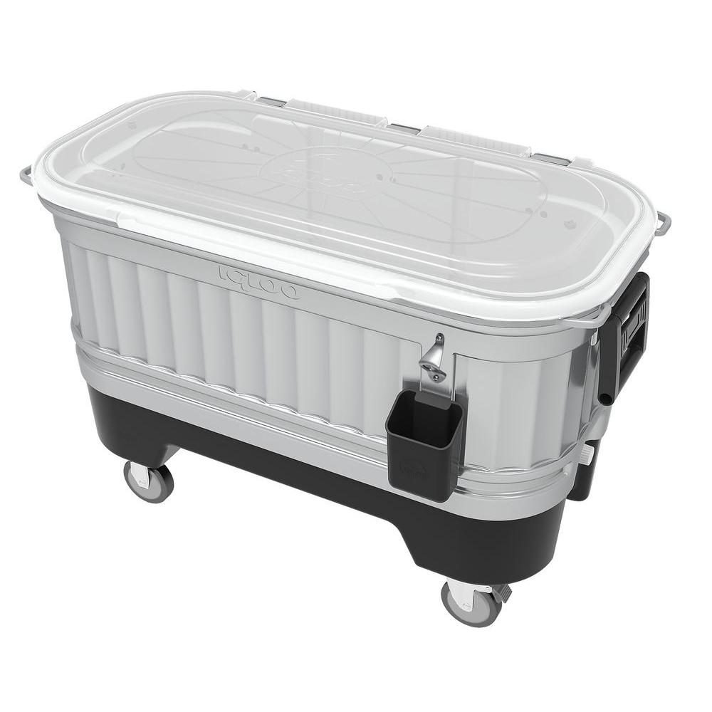 Party Bar 125 qt. 4-Wheeled Cooler