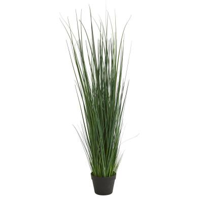 Indoor 4 ft. Grass Artificial Plant