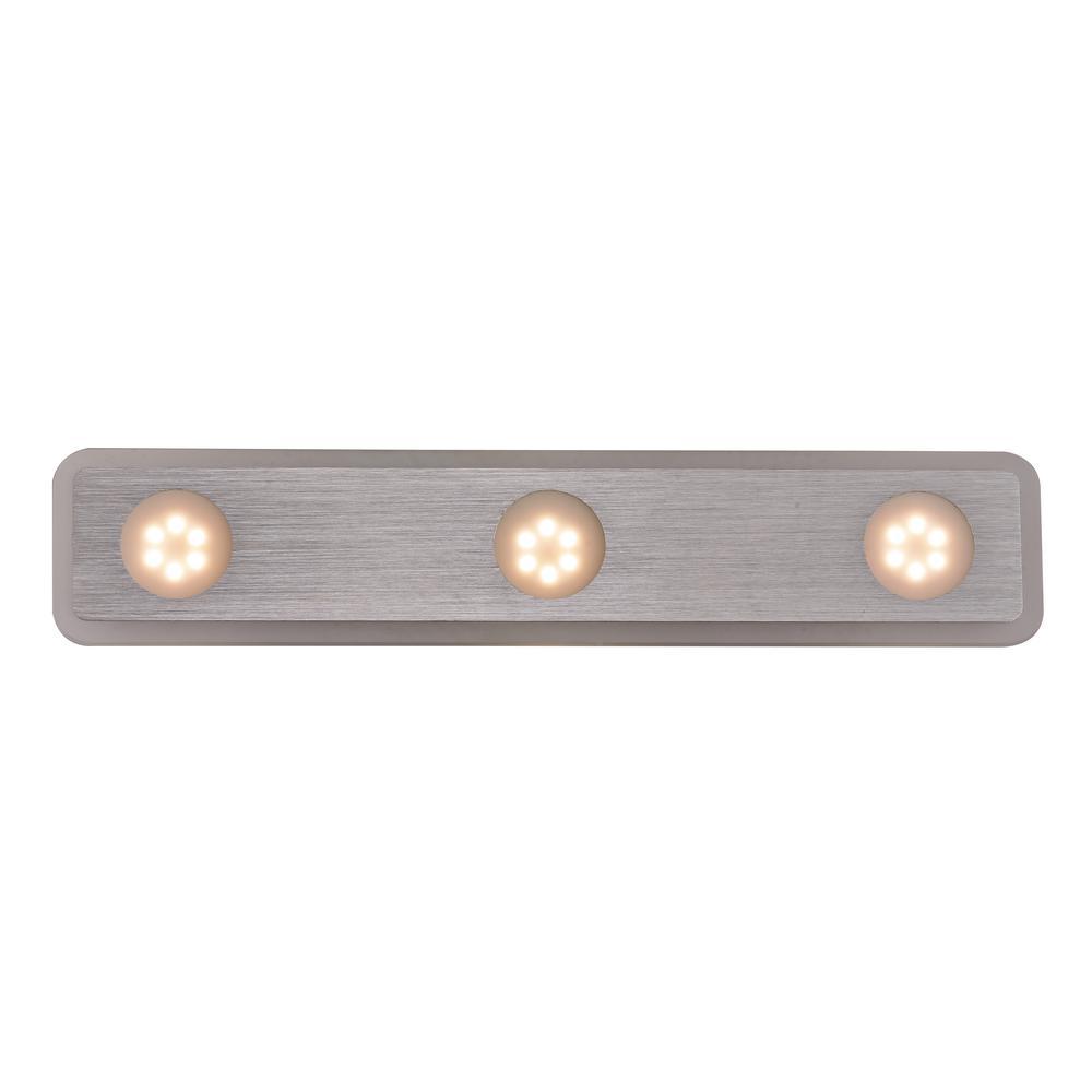 9-Watt Polished Chrome Integrated LED Bath Light
