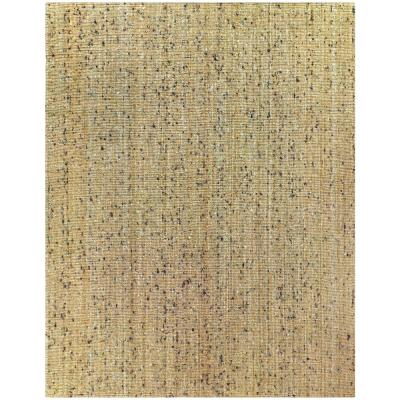 Bayonna Natural Tan 5 ft. x 7 ft. Solid Area Rug