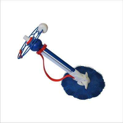 Automatic Suction Pool Cleaner for In Ground Pool with 32 ft. Hose