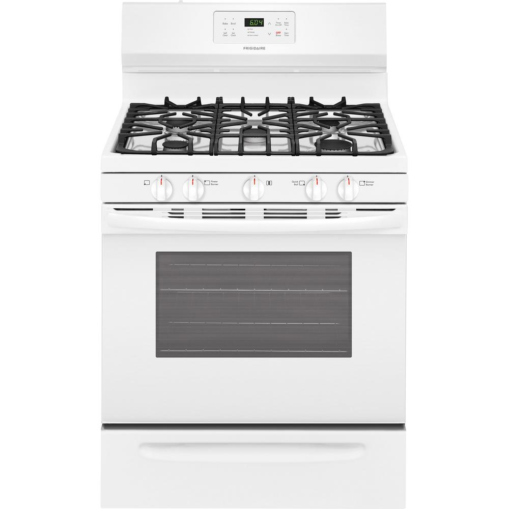 White - Single Oven Gas Ranges - Gas Ranges - The Home Depot