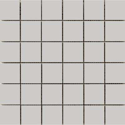 Choice Gray 12.05 in. x 12.09 in. x 8mm Ceramic Mesh-Mounted Mosaic Tile (1.01 sq. ft.)